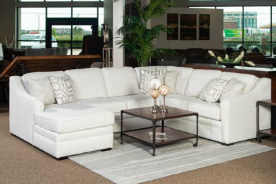 Picture of DIONYSIA UPHOLSTERED RAF CHAISE SECTIONAL