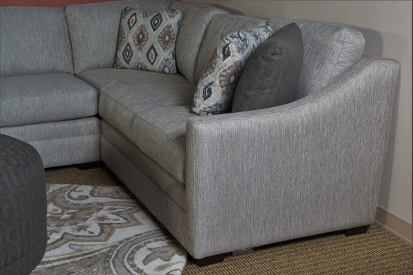 Picture of KAYDENCE UPHOLSTERED LAF CUDDLER SECTIONAL