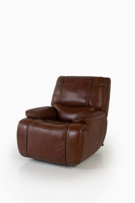 Picture of STAMPEDE CHESTNUT LEATHER POWER GLIDING RECLINER