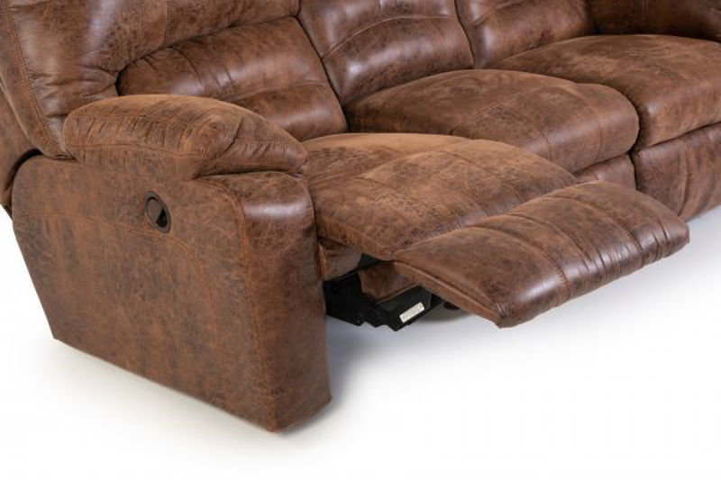 Picture of DAKOTA RECLINING SOFA W/ DROP TABLE