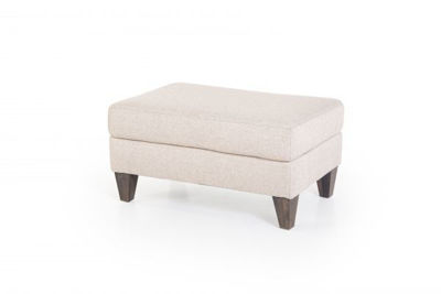 Picture of HANSON SAND UPHOLSTERED OTTOMAN