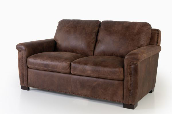 Picture of STALLONE ALL LEATHER LOVESEAT