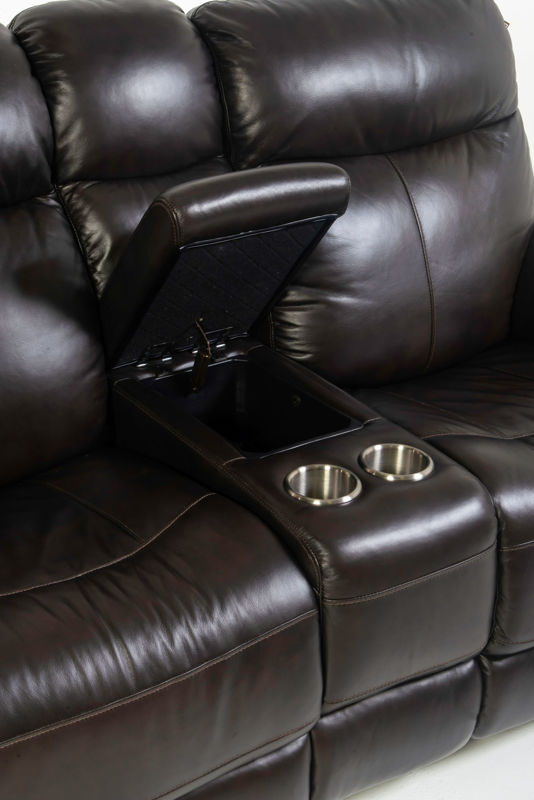 Picture of ZOEY LEATHER POWER RECLINING LOVSEAT