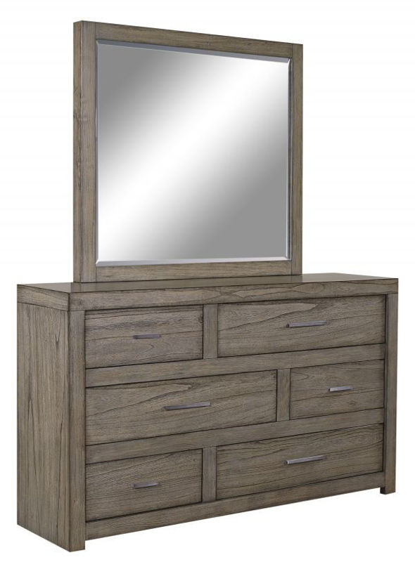 Picture of MODERN LOFT 6 DRAWER DRESSER