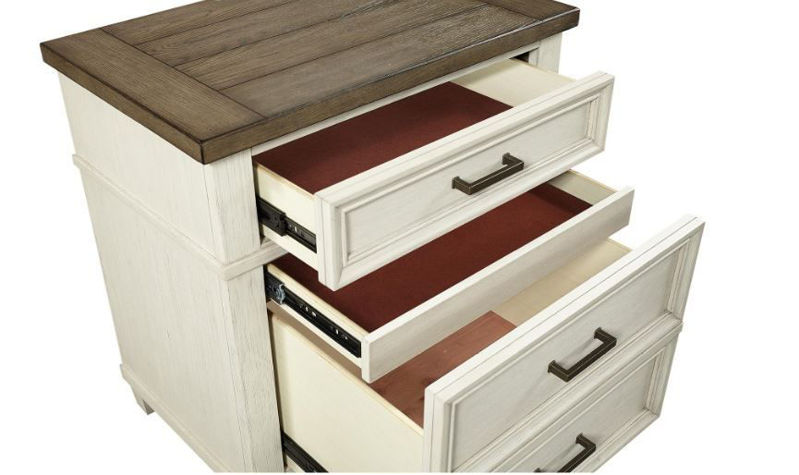 Picture of CARAWAY TWO DRAWER NIGHTSTAND