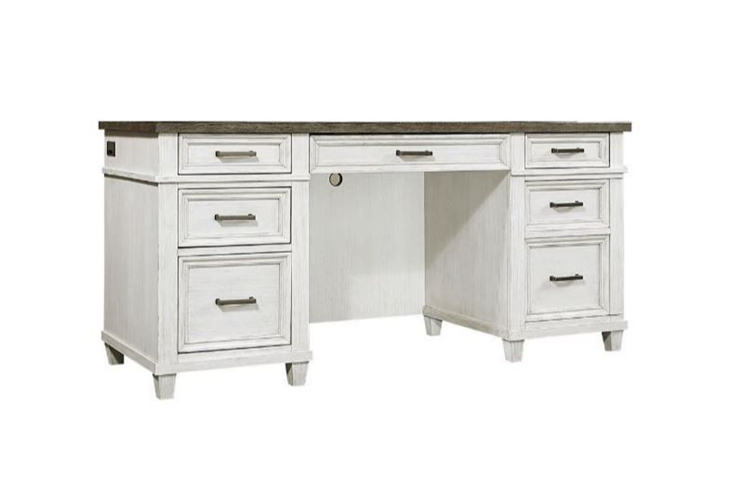 "Picture of CARAWAY 66"" COMPUTER CREDENZA DESK"