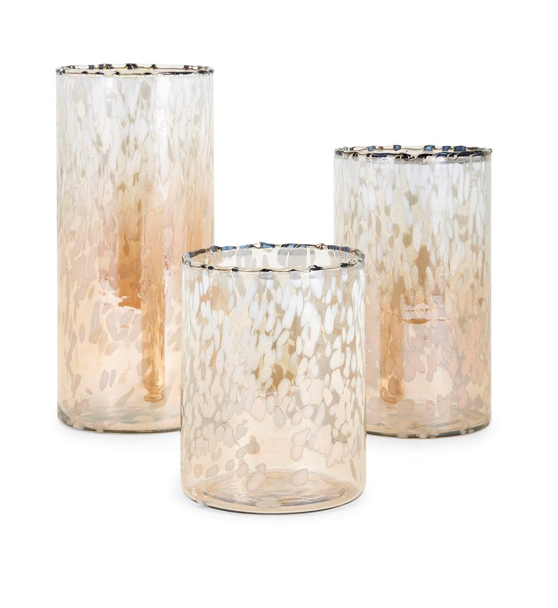 Picture of TY LUXE GLASS HURRICANES