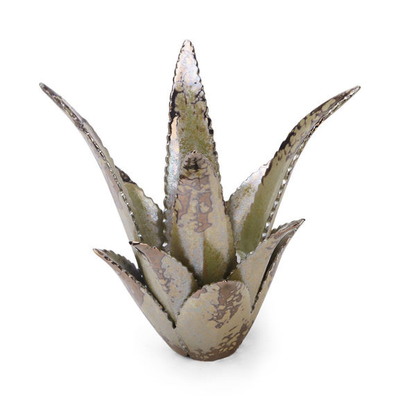 Picture of CERAMIC SUCCULENT CANDLEHOLDER
