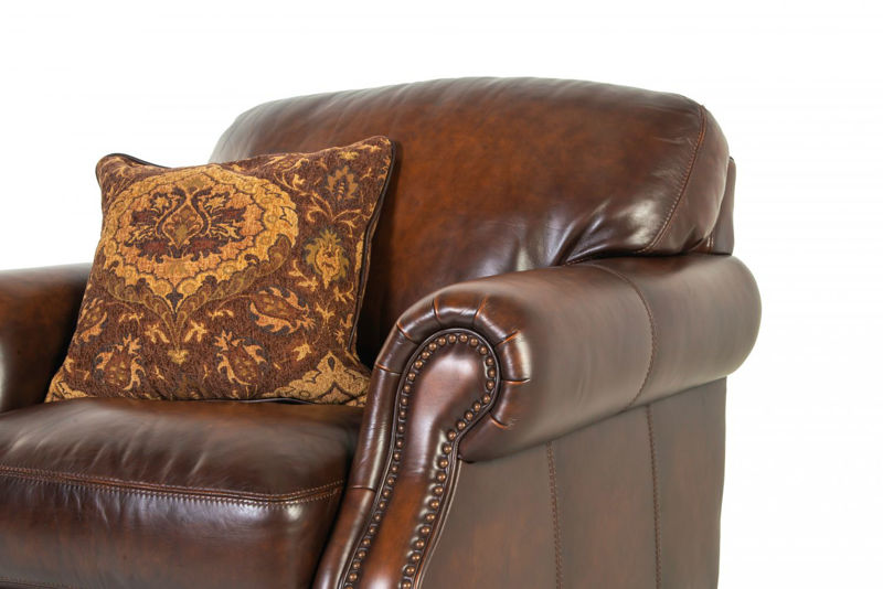 Picture of WESTMINISTER ALL LEATHER CHAIR