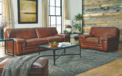 Picture of MACCO LEATHER LIVING ROOM SET