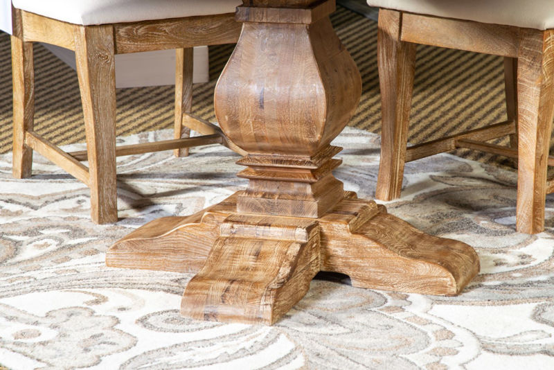 Picture of CORDOBA SOLID WOOD ROUND DINING SET