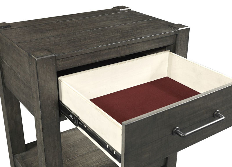 Picture of MILL CREEK 1 DRAWER NIGHTSTAND