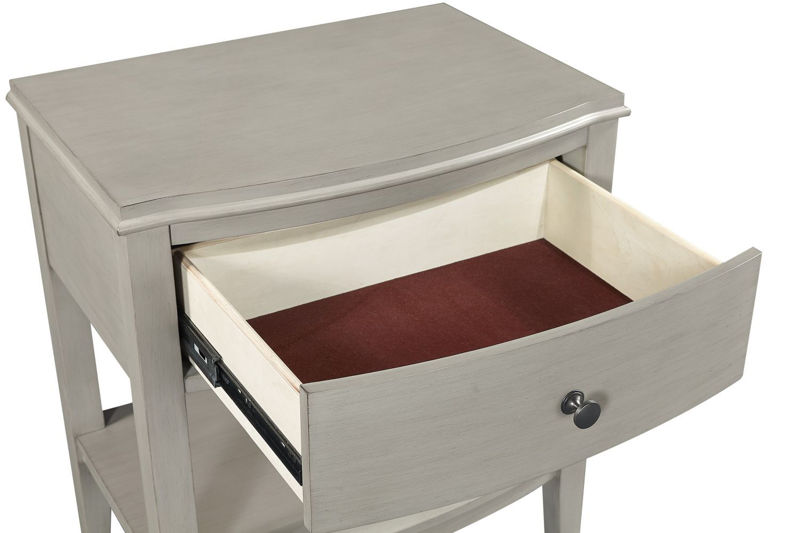 Picture of CHARLOTTE 1 DRAWER NIGHTSTAND