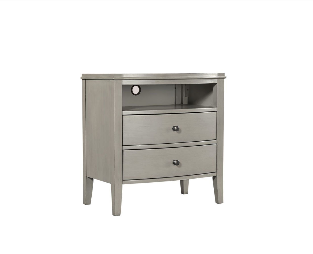 Picture of CHARLOTTE 2 DRAWER NIGHTSTAND