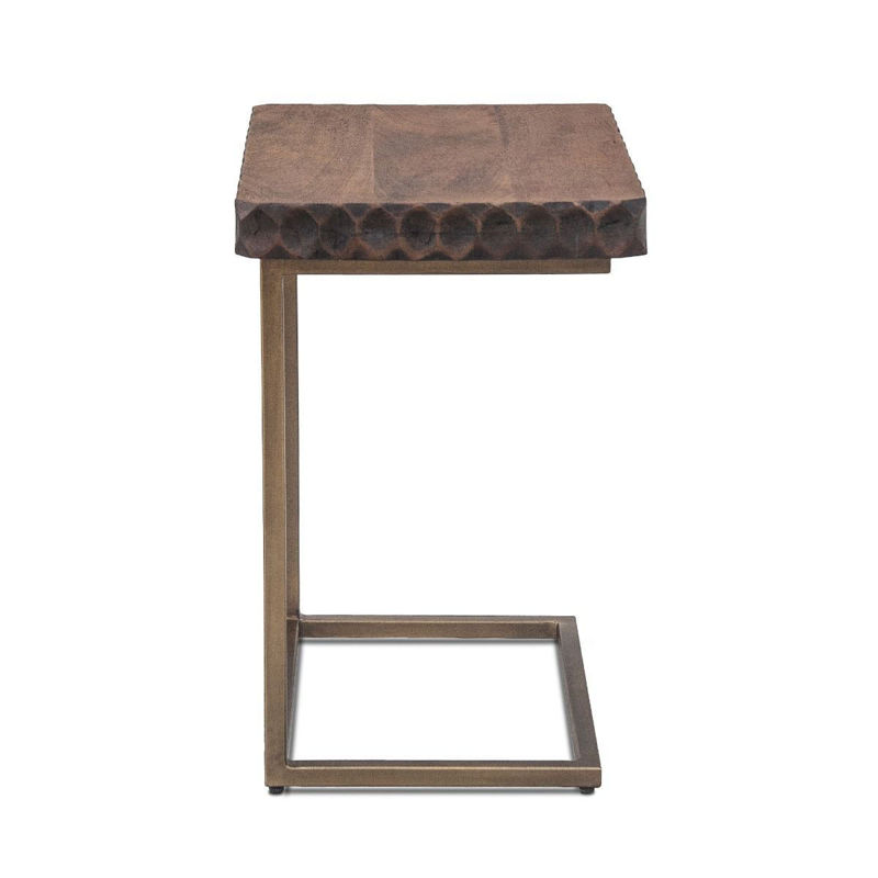 Picture of SANTA CRUZ TWO TONED SIDE TABLE