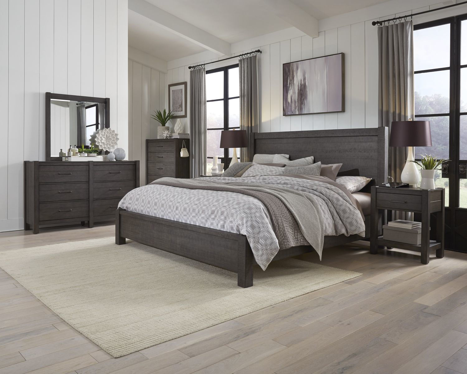 Picture of MILL CREEK QUEEN PLATFORM BEDROOM SET