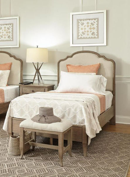 Picture of PROVENCE FULL UPHOLSTERED BEDROOM SET