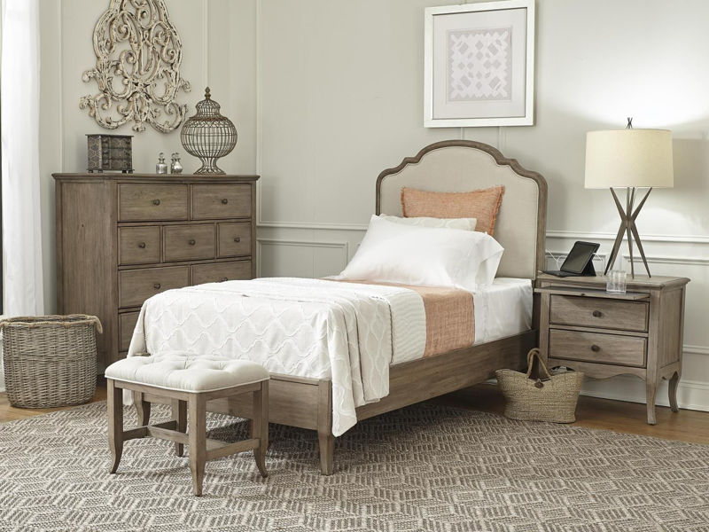 Picture of PROVENCE TWIN UPHOLSTERED BEDROOM SET