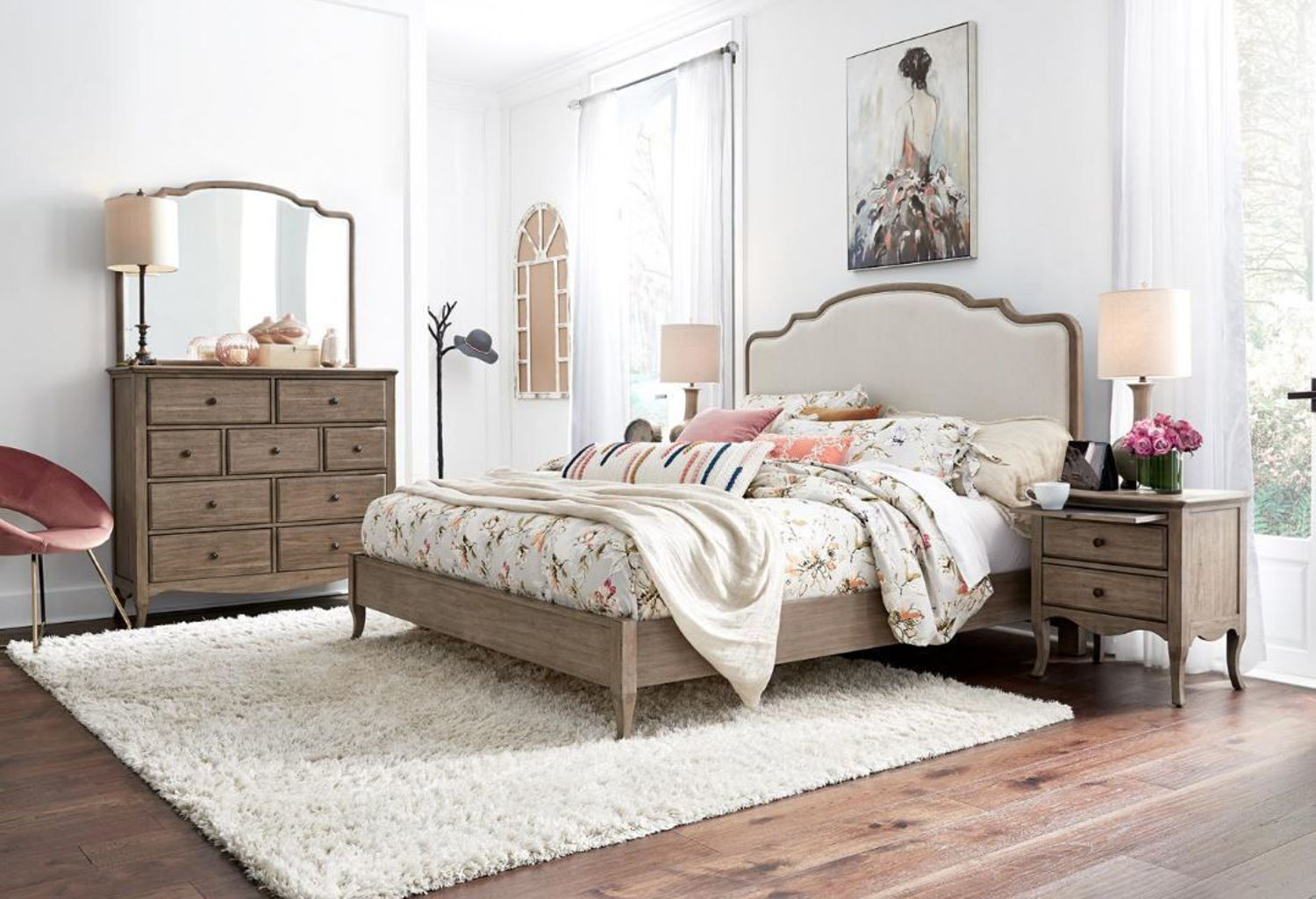 Picture of PROVENCE QUEEN UPHOLSTERED BEDROOM SET