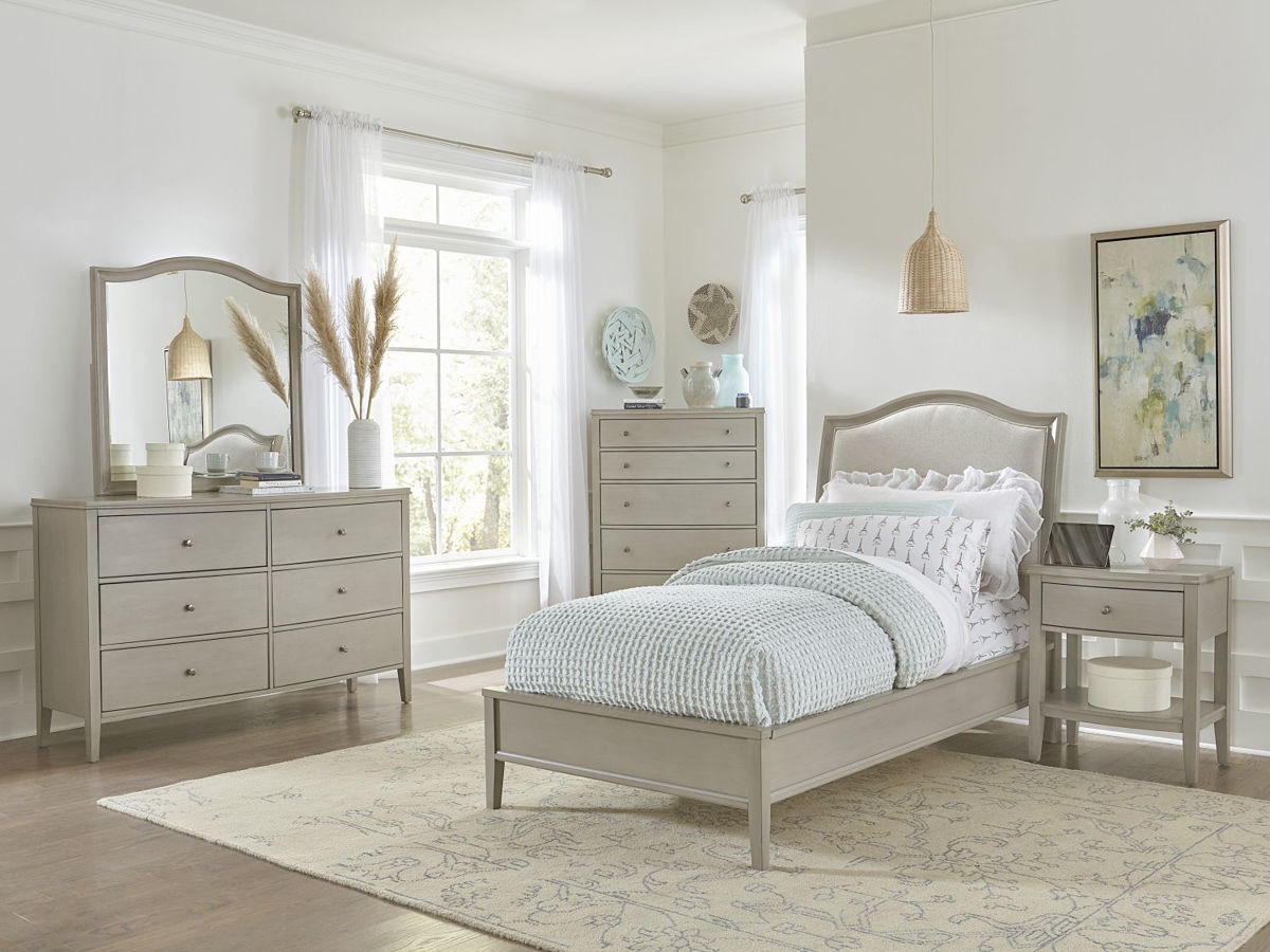Picture of CHARLOTTE TWIN UPHOLSTERED BED
