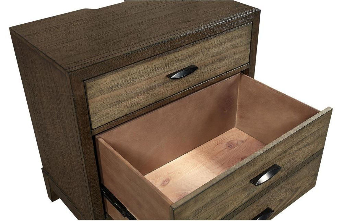 Picture of WESTLAKE 2 DRAWER NIGHTSTAND
