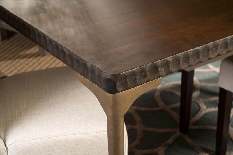 "Picture of SANTA CRUZ RECTANGULAR 78"" DINING TABLE SET"