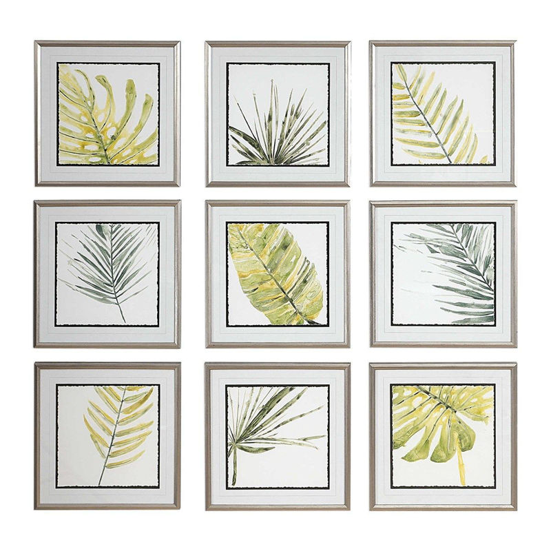 Picture of VERDANT IMPRESSIONS FRAMED PRINTS