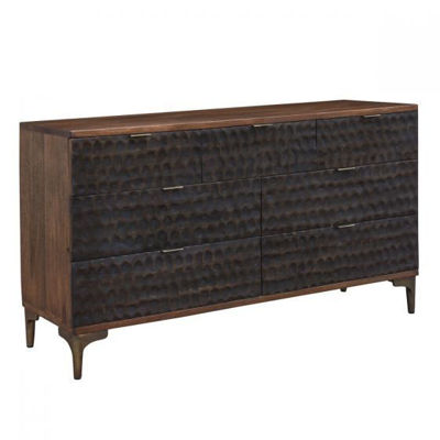 "Picture of SANTA CRUZ 60"" TWO-TONE DRESSER"