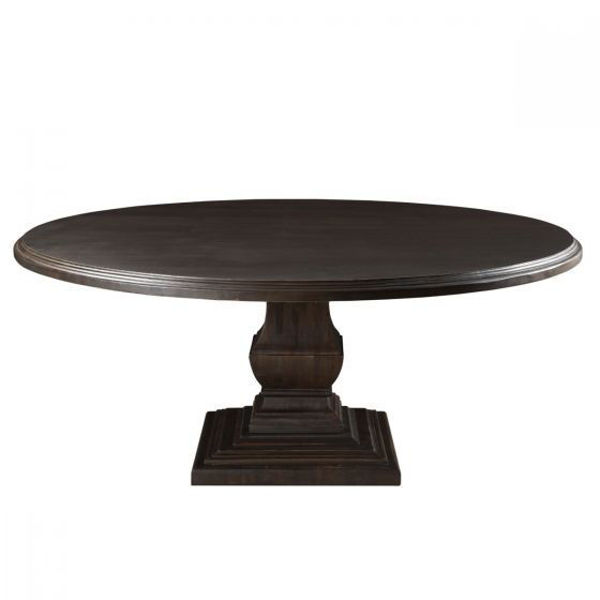 "Picture of NIMES 60"" ROUND SOLID WOOD DINING TABLE"