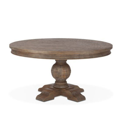 "Picture of CHARLESTON 54"" SOLID WOOD ROUND TABLE"