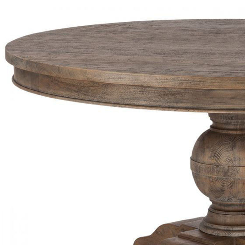 """Picture of CHARLESTON 54"""" SOLID WOOD ROUND TABLE"""