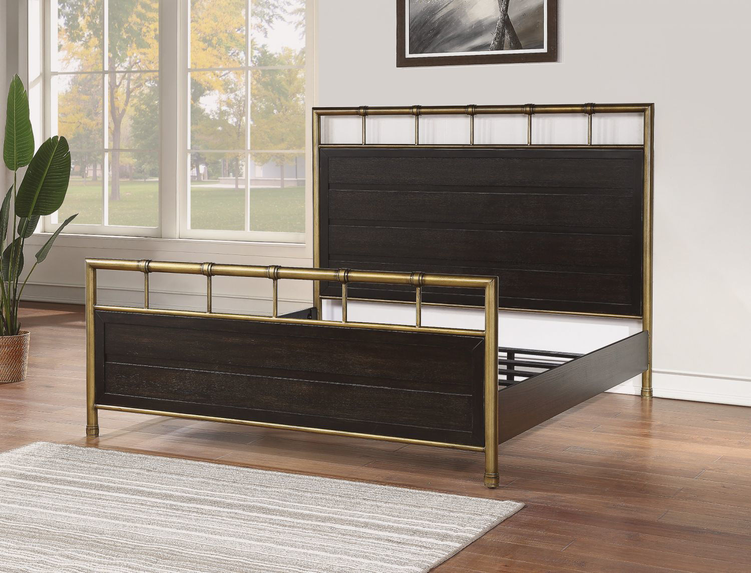 Picture of COLOGNE KING PANEL BED