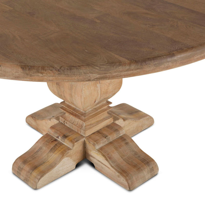"Picture of CORDOBA SOLID WOOD 54"" ROUND DINING TABLE"