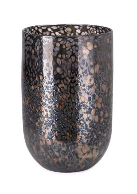Picture of GREIGE ART GLASS VASE