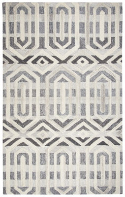 Picture of SUFFOLK GRAY WOOL RUG