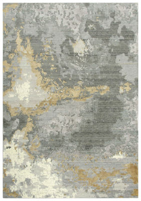 Picture of SP.O. ARTISTRY GRAY WOOL RUG