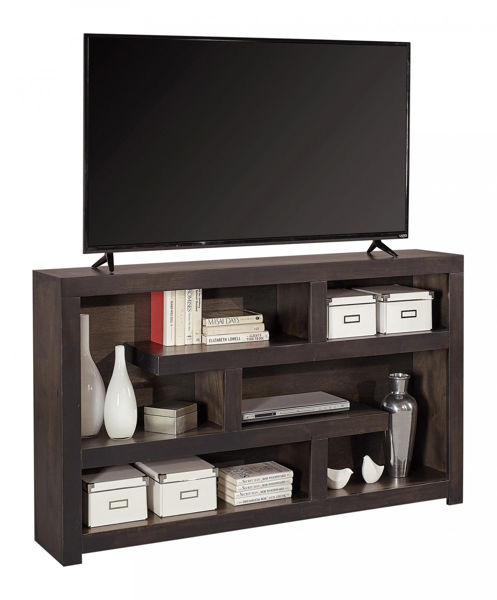 "Picture of AVERY LOFT 60"" GHOST BLACK DISPLAY CONSOLE"