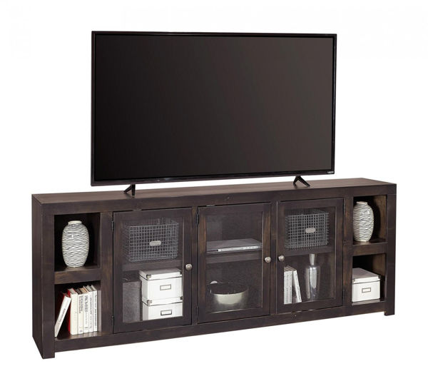 """Picture of AVERY LOFT 84"""" GHOST BLACK TV CONSOLE"""