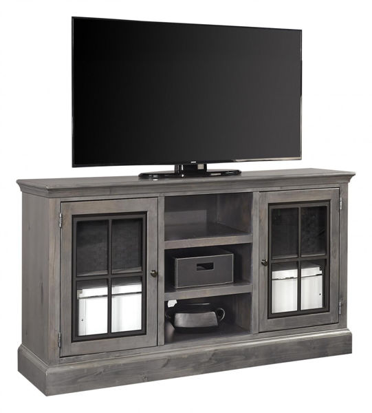 "Picture of CHURCHILL SMOKEY GRAY 59"" TV CONSOLE"