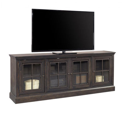 "Picture of CHURCHILL 84"" GHOST BLACK TV CONSOLE"