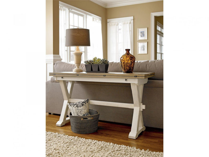 Picture of DROP LEAF CONSOLE TABLE