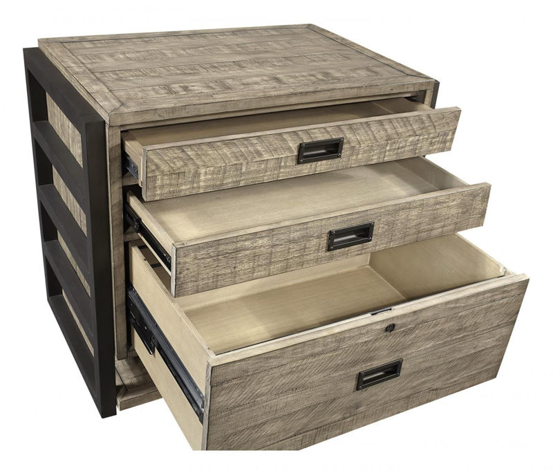 Picture of GRAYSON COMBO FILE CABINET