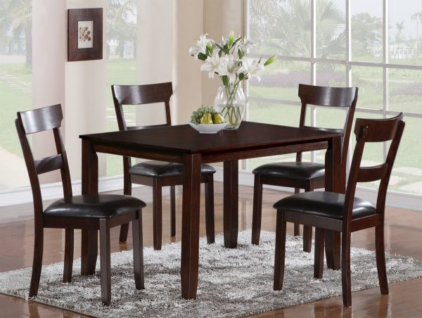 Picture of HENDERSON WOOD TABLE/4 CHAIRS