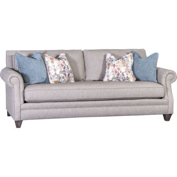 Picture of ZENITH PEWTER UPHOLSTERED SOFA