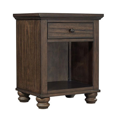 Picture of HUDSON VALLEY 1 DRAWER NIGHTSTAND
