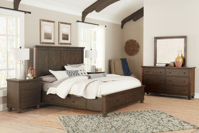 Picture of HUDSON VALLEY QUEEN STORAGE BEDROOM SET