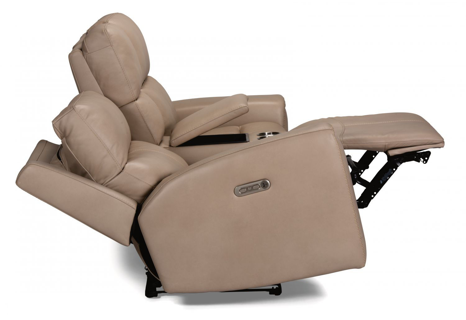 Picture of JARVIS LEATHER POWER RECLINING LOVESEAT