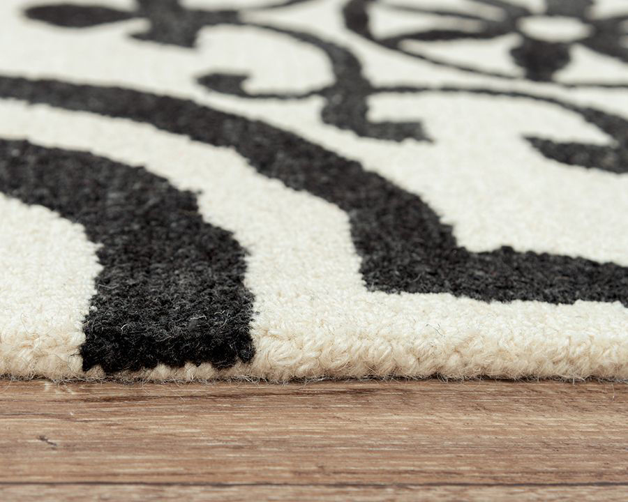 Picture of MATRIX BLACK AND WHITE RUG