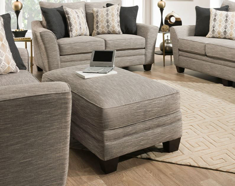 Picture of SPRINGER UPHOLSTERED OTTOMAN
