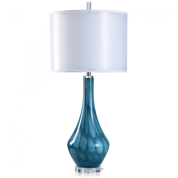 Picture of GLASS/CRYSTAL TABLE LAMP
